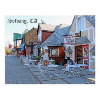 Great Solvang Postcard! Postcard