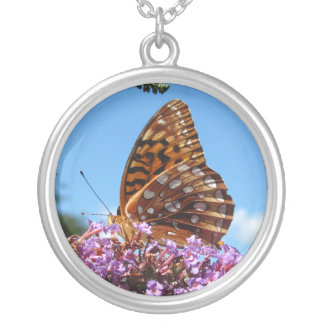 Great Spangled Frit ~ necklace