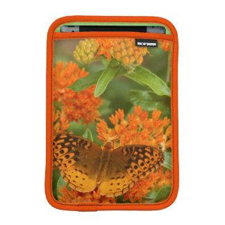 Great Spangled Fritillaries on Butterfly Milkweed Sleeve For iPad Mini