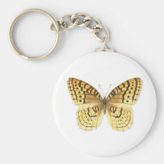 Great Spangled Fritillary Butterfly Keychain
