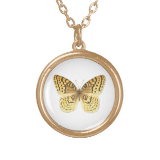 Great Spangled Fritillary Butterfly Necklace