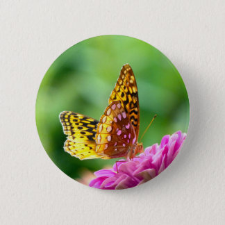 Great Spangled Fritillary Button