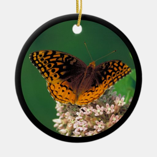 Great Spangled Fritillary Christmas Ornaments