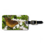 Great Spangled Fritillary on Mountain Laurel Photo Luggage Tag
