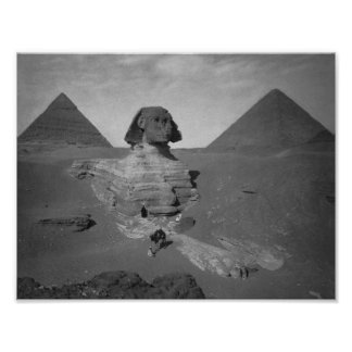 Great Sphinx Of Giza Egypt Poster