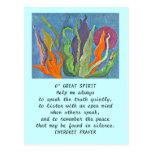 great spirit prayer postcard