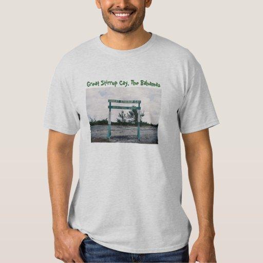Great Stirrup Cay International Airport Shirts