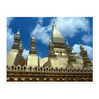 great stupa gold tops postcard