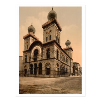Great Synagogue of Turin, Piedmont, Italy Postcard