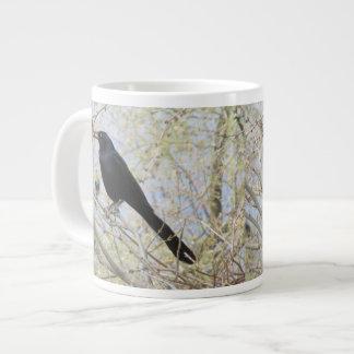 Great-tailed Grackle Large Coffee Mug