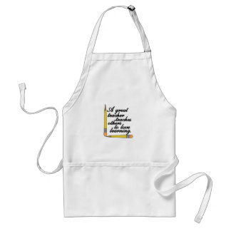 Great Teacher Adult Apron