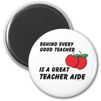 Great Teacher Aide Fridge Magnets