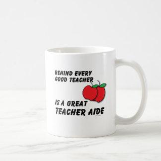 Great Teacher Aide Coffee Mugs