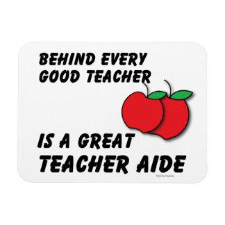 Great Teacher Aide Vinyl Magnets