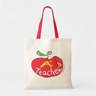 great teacher apple with apple bag
