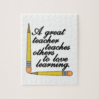 Great Teacher Puzzle
