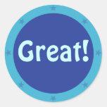Great - Teacher Sticker Series