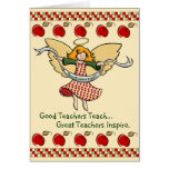 Great Teachers Inspire Greeting Card
