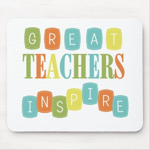Great Teachers Inspire Mousepad