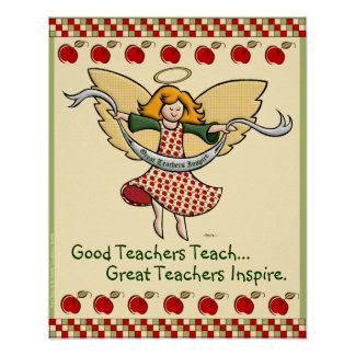 Great Teachers Inspire Posters