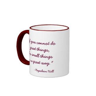 Great Things Motivational Coffe Mug