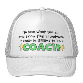 Great to be a COACH Cap