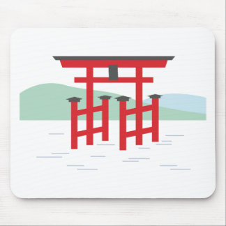 Great Torii Gate Mouse Pad