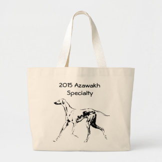 Great Tote bag for the 2015 Azawakh Specialty