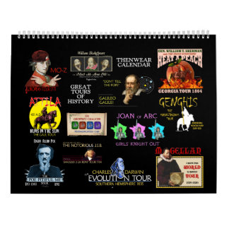Great Tours of History 2017 Calendar