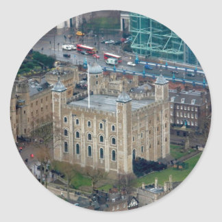 Great! Tower of London England Classic Round Sticker