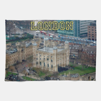 Great! Tower of London England Kitchen Towel