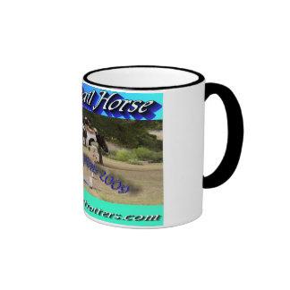Great trail horse World Champion logo cup Ringer Coffee Mug