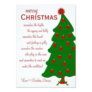 Great Tree 5x7 Paper Invitation Card