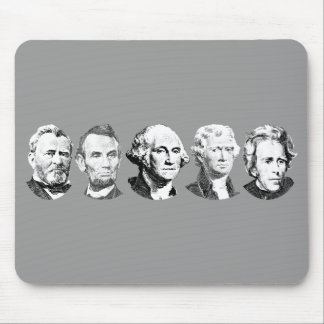Great U S Presidents Mouse Pads