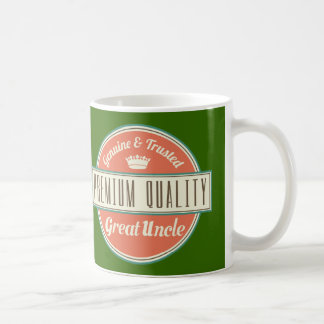 Great Uncle (Funny) Gift Classic White Coffee Mug