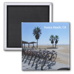 Great Venice Beach Magnet! 2 Inch Square Magnet