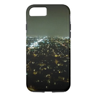 Great View Overlooking the City Lights at Night iPhone 7 Case