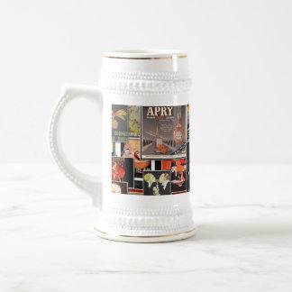 Great Vintage Ads #2 - Spirits 18 Oz Beer Stein