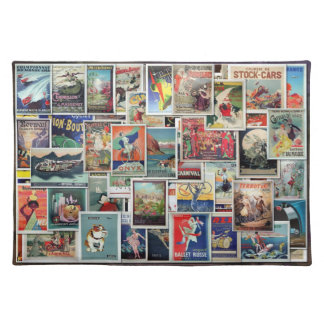 Great Vintage Ads - Travel & Leisure #1, American Place Mats