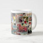 Great Vintage Ads - Travel & Leisure Jumbo Mug 20 Oz Large Ceramic Coffee Mug