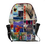 Great Vintage Travel Ads 2, Rickshaw Messenger Bag