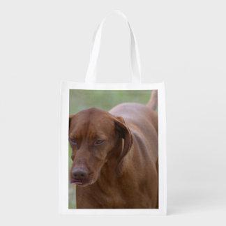 Great Vizsla Dog Reusable Grocery Bag