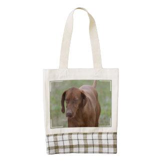 Great Vizsla Dog Zazzle HEART Tote Bag