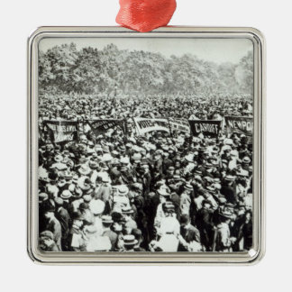 Great Votes for Women demonstration in Hyde Metal Ornament