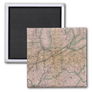 Great Wabash System 2 Inch Square Magnet