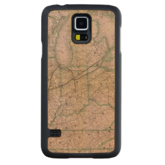 Great Wabash System Carved® Maple Galaxy S5 Case