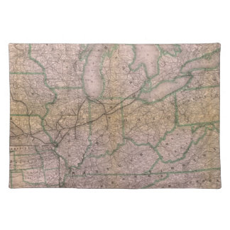 Great Wabash System Cloth Placemat