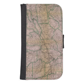 Great Wabash System Galaxy S4 Wallet Case