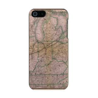 Great Wabash System Metallic Phone Case For iPhone SE/5/5s
