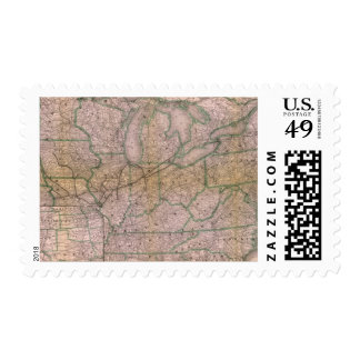 Great Wabash System Postage